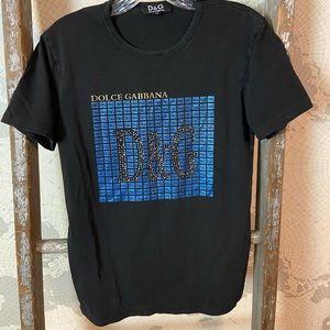 Dolce & Gabanna embellished t shirt M